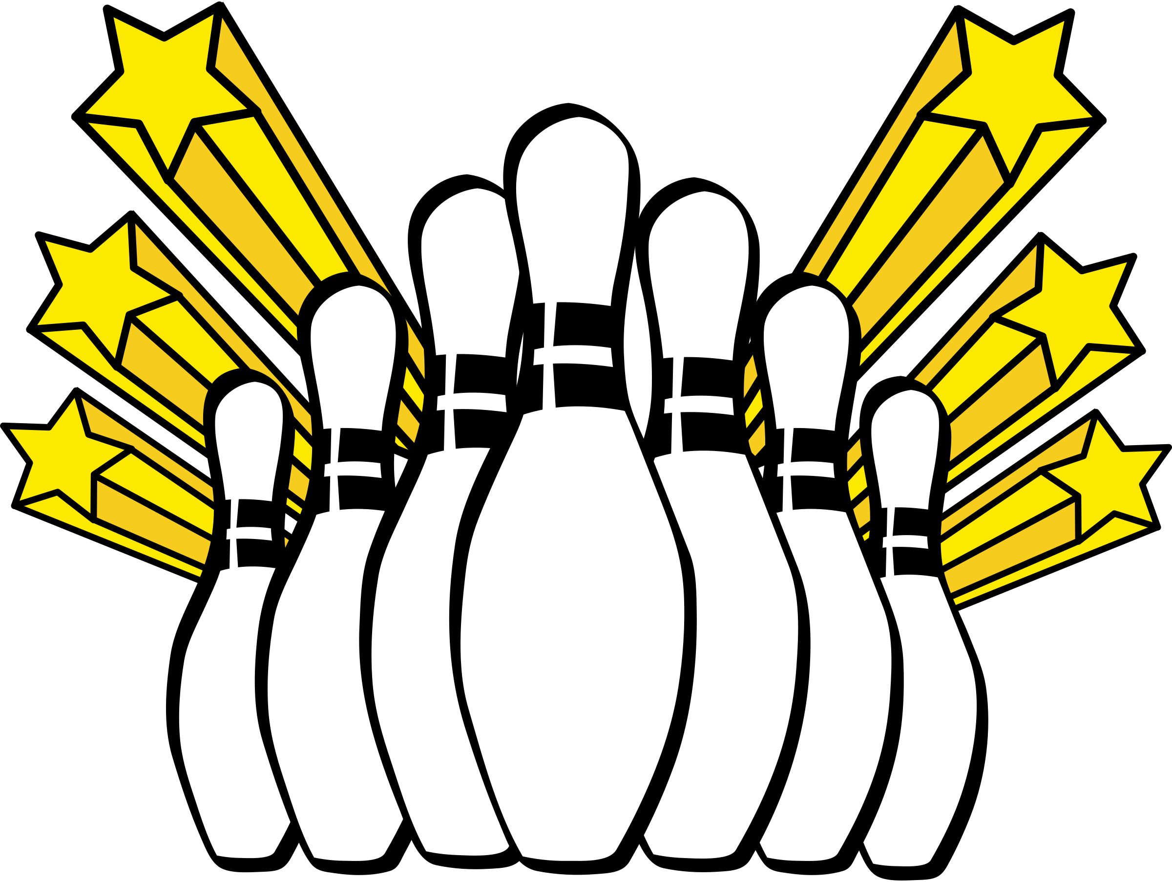clip download Action clipart drawing. Bowling at getdrawings com