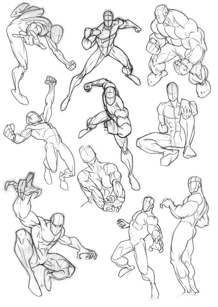 clipart transparent stock Male stance and poses. References drawing action