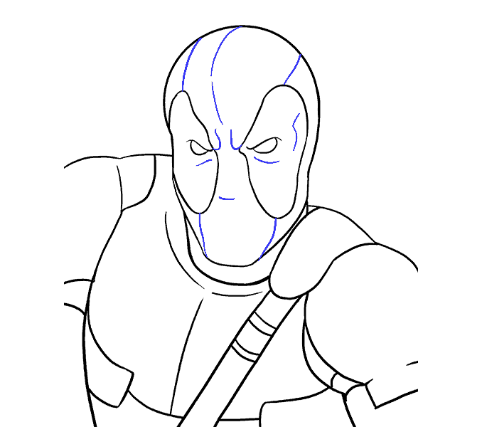svg free stock How to Draw Deadpool