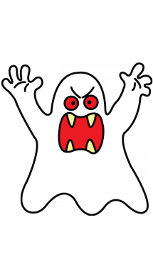 svg freeuse library How to Draw a Ghost