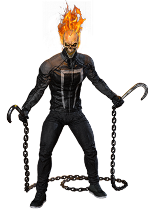 clip art stock action drawing ghost rider #88743056