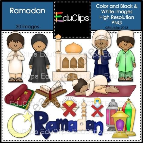 clip art library download Clip art bundle from. Activities clipart ramadan.