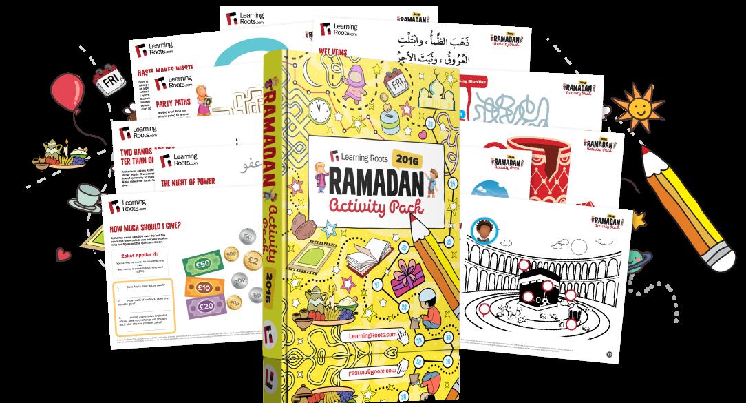 jpg Bumper kids activity pack. Activities clipart ramadan