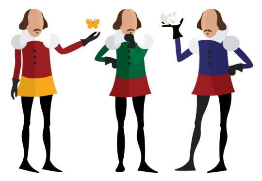 banner free Actor Clipart shakespeare actor