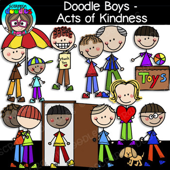 svg free library Doodle boys scrappin doodles. Acts of kindness clipart