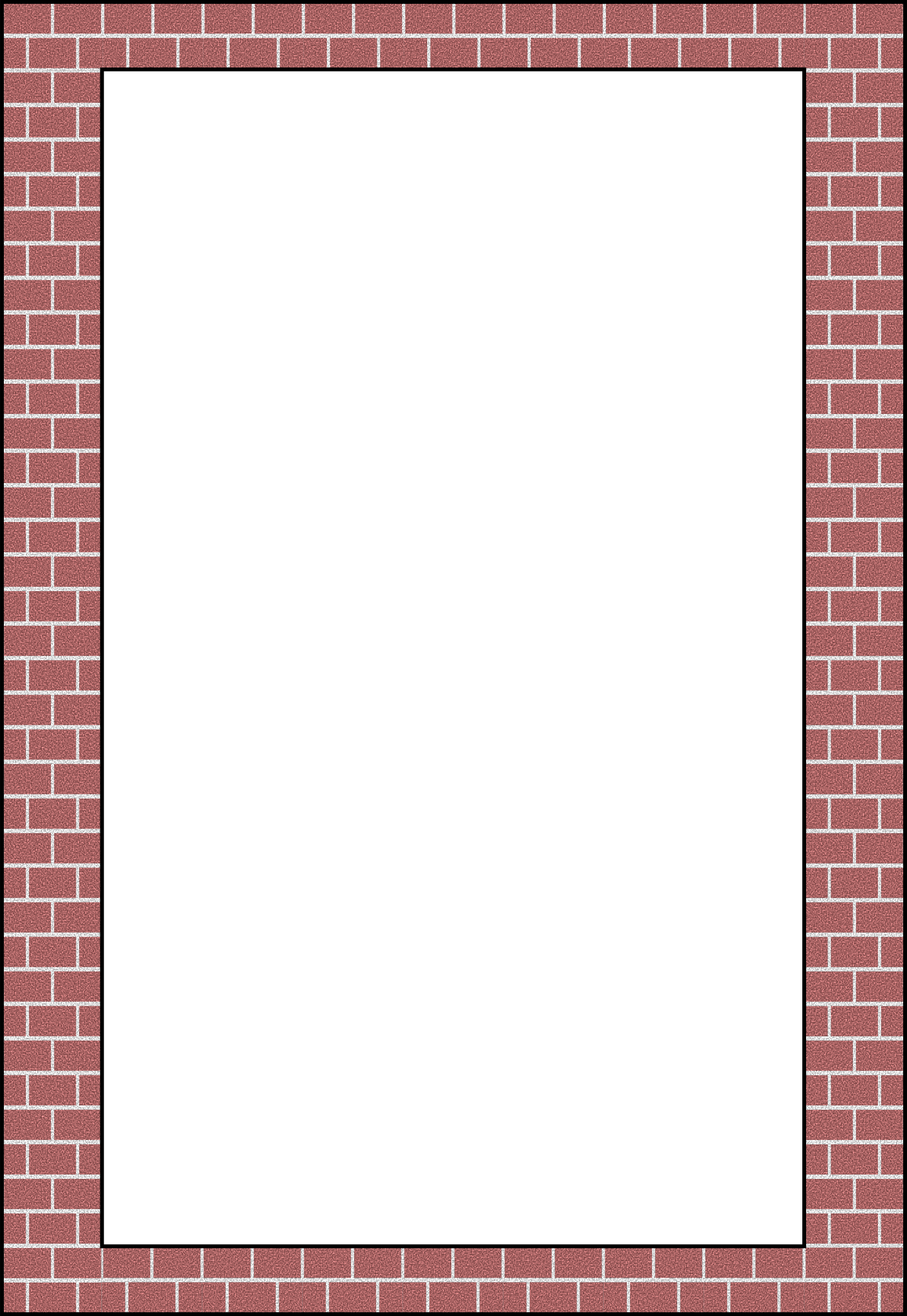 picture Brick clipart brick pathway. Openclipart org border by
