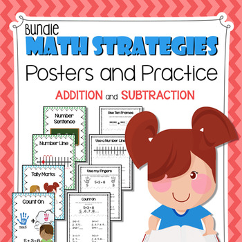 banner freeuse Strategies posters and practice. Addition clipart reading math