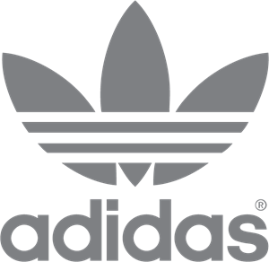 clip art black and white library Adidas Logo Vectors Free Download