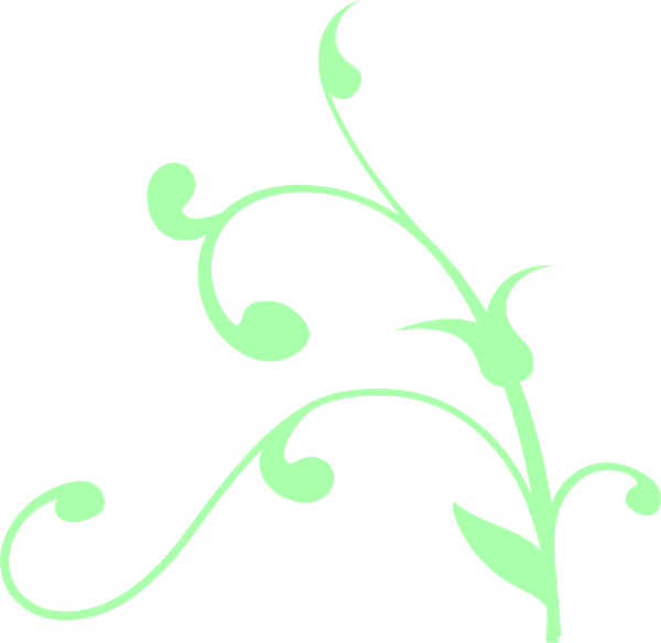 image freeuse Mint Green Swirl Clip Art at Clker