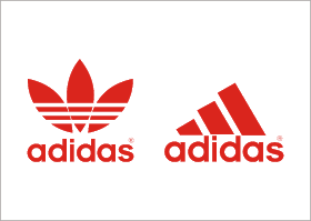 vector freeuse stock Adidas Logo Vector