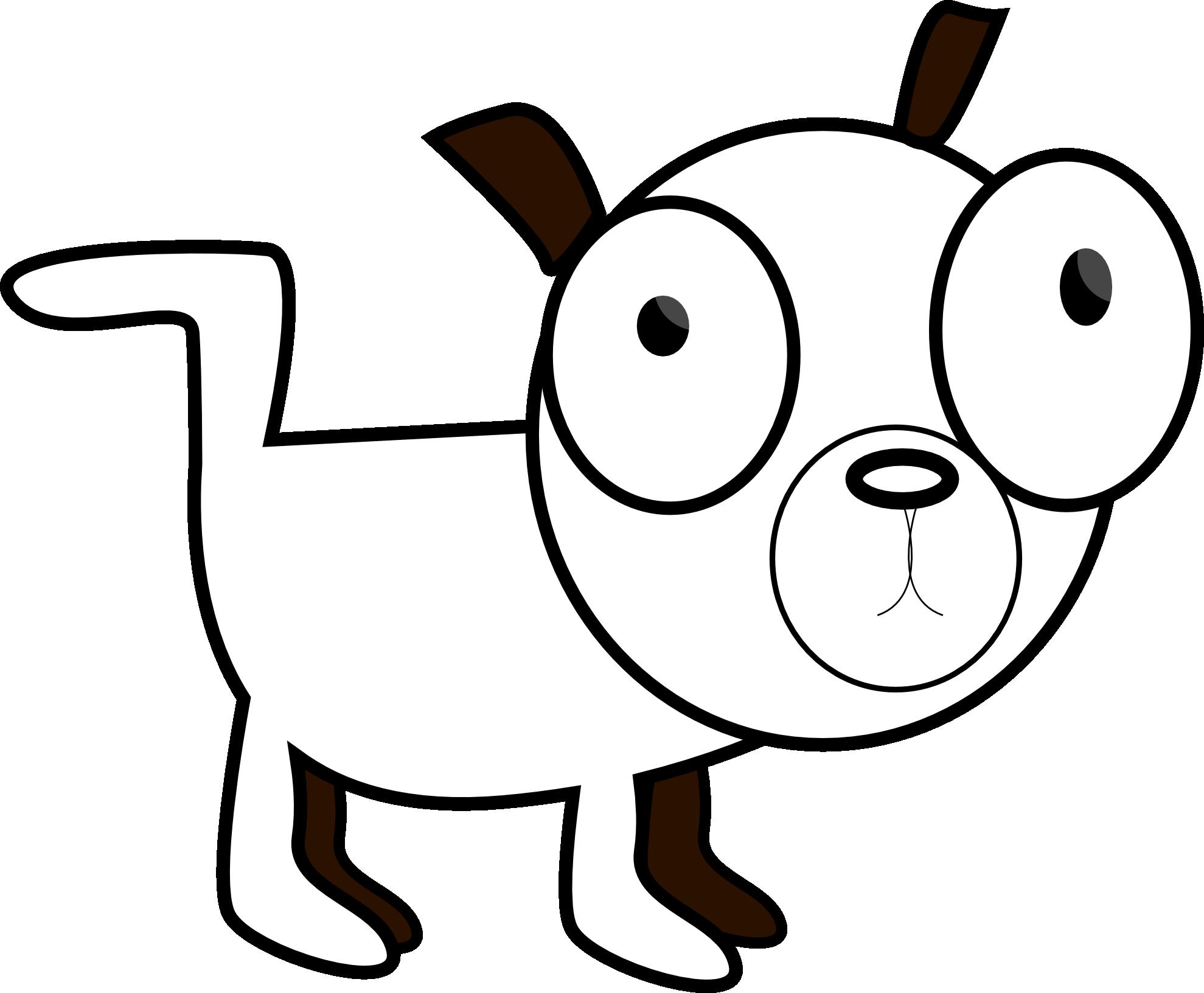png download Dog Dawg Black White Line