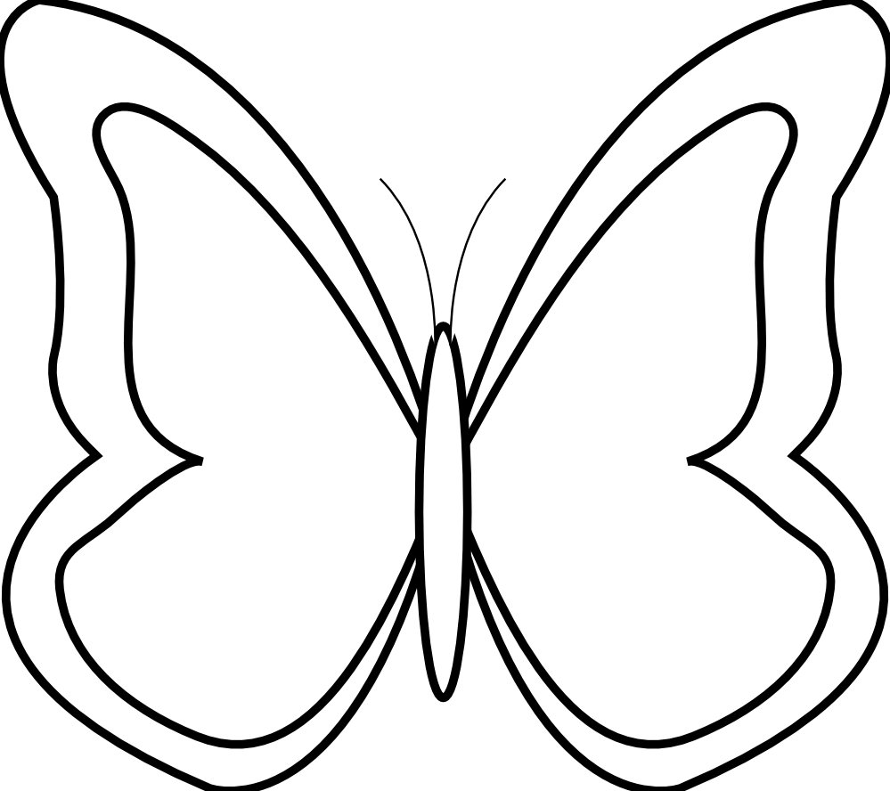 clipart free stock Clipartist net illustrator butterfly. Adobe clipart black and white