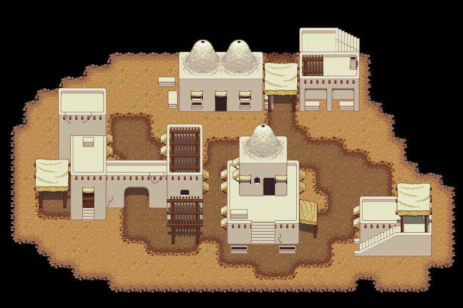 vector library Lpc town set opengameart. Adobe clipart desert house