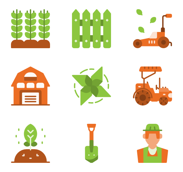 transparent  tools icon packs. Adobe clipart farming