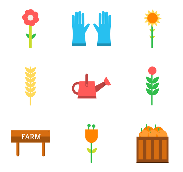 banner library stock farmer vector flat #96467456