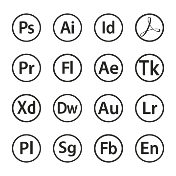 graphic black and white stock Icons png vectors psd. Adobe clipart icon