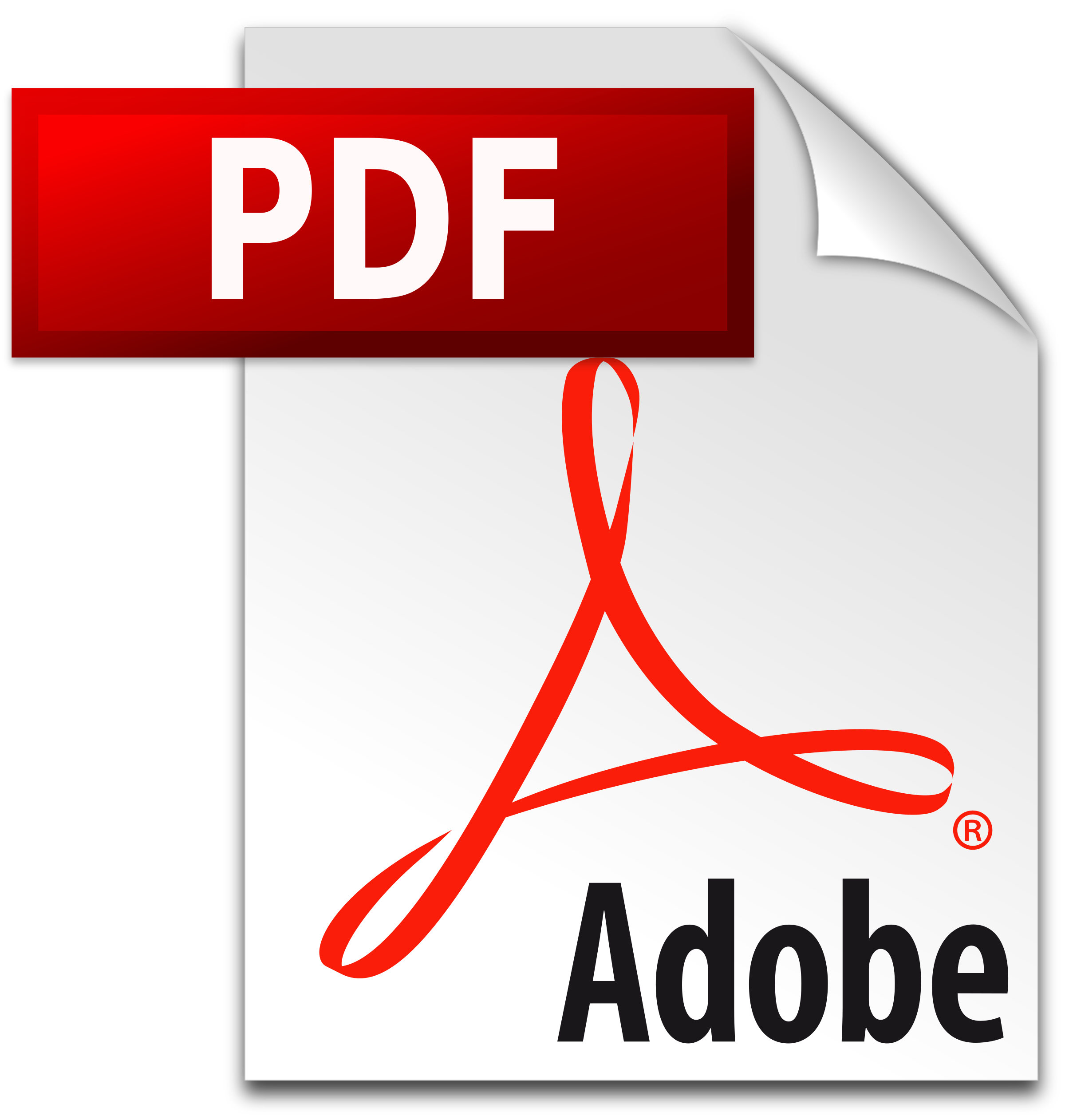 clip royalty free library PDF icon Logo PNG Transparent
