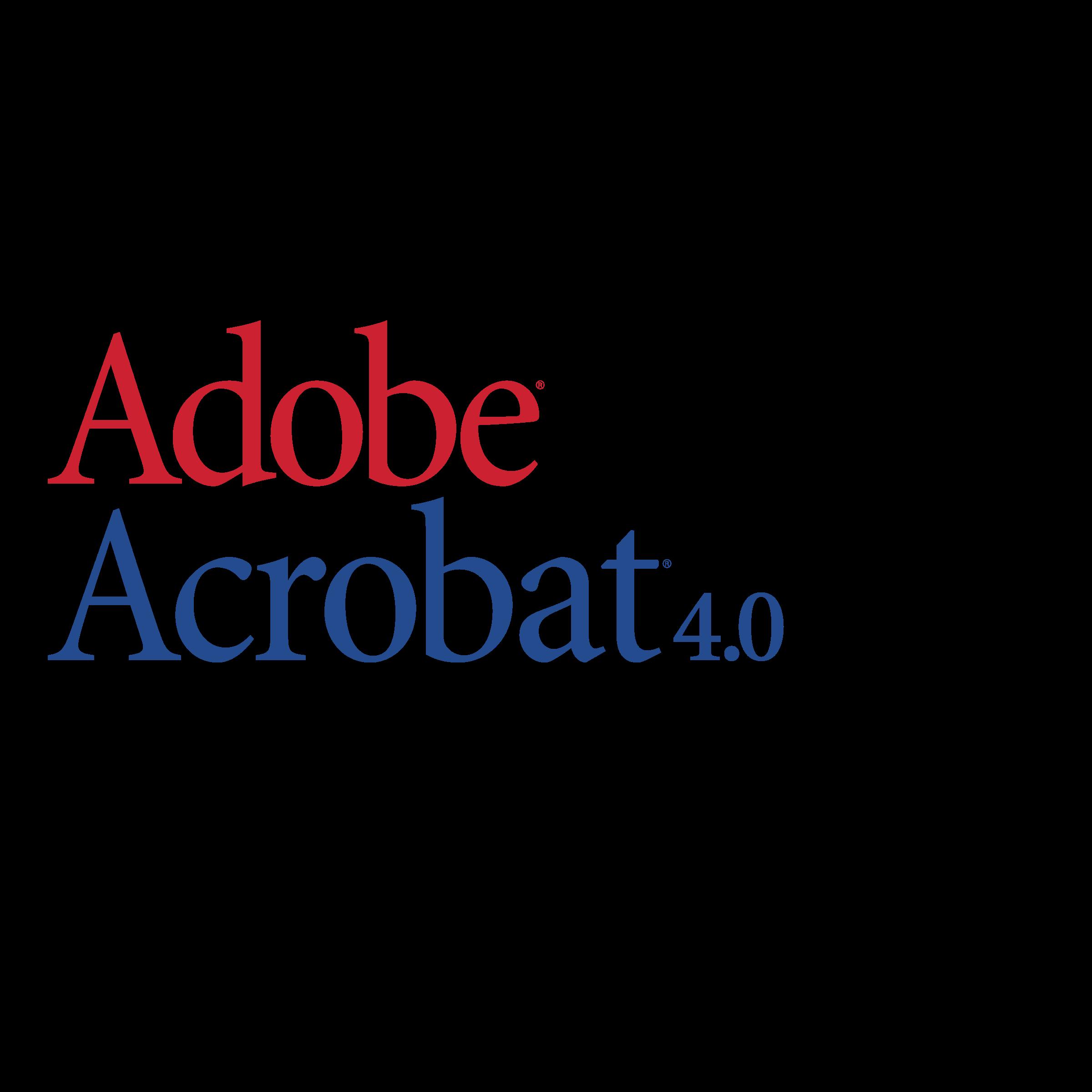 vector free download Adobe Acrobat Logo PNG Transparent