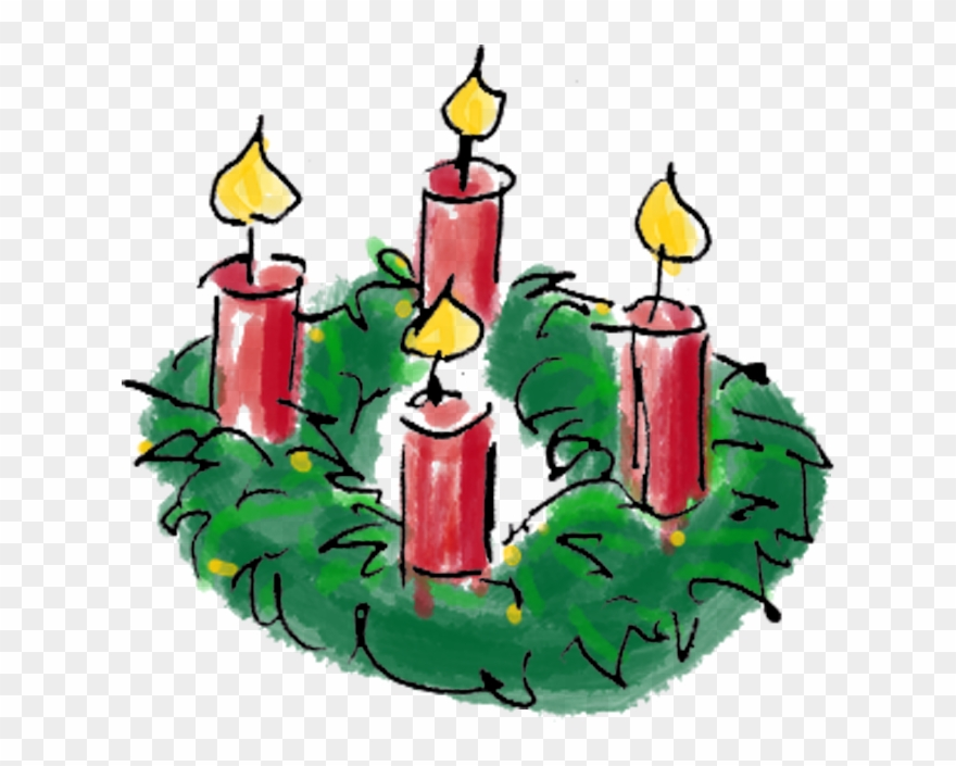 image black and white library Second sunday of askideascom. Advent clipart