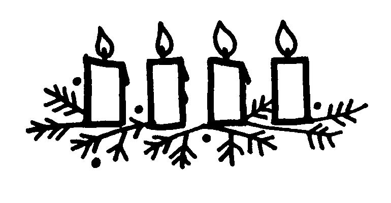 graphic black and white library Free religious cliparts download. Advent clipart.