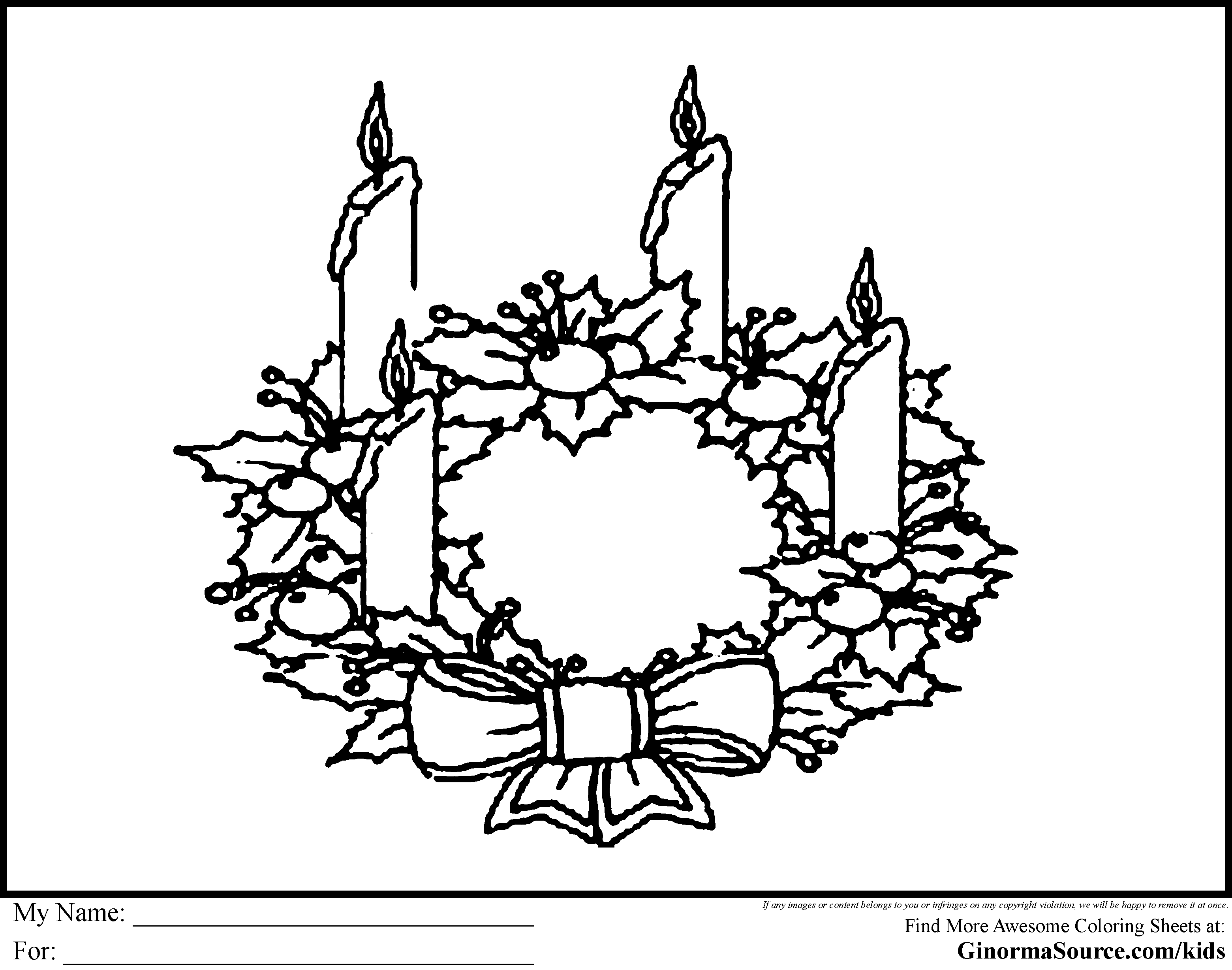 clipart freeuse library Free cliparts download clip. Advent wreath clipart black and white