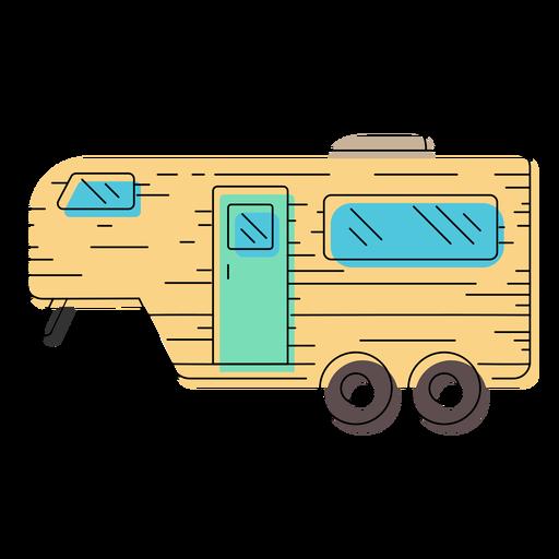 jpg library download Adventure clipart camper. Caravan transparent free on