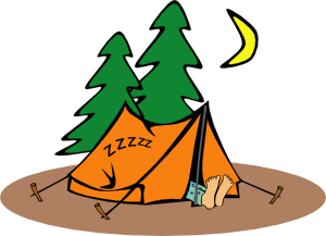 banner royalty free download Panda free images camperclipart. Adventure clipart camper