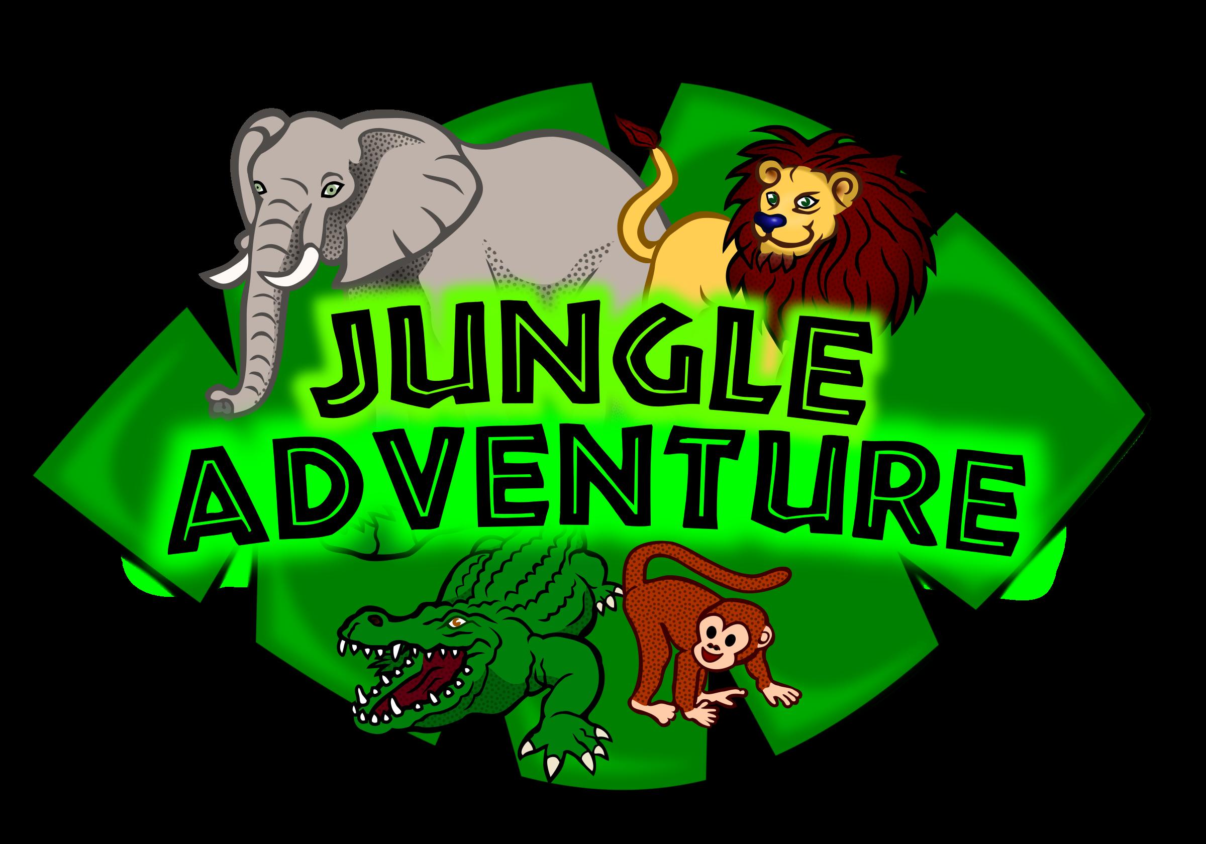 vector download Kids club logo big. Adventure clipart jungle animal
