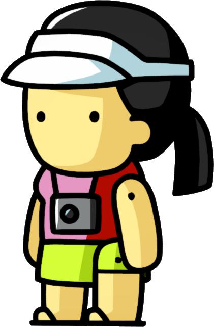 svg transparent stock Adventure clipart sightseeing. Tourist scribblenauts wiki fandom