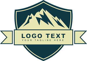 clip royalty free download Adventure logo eps free. Vector emblem mountain