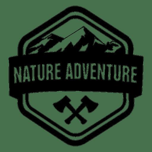 clip art library stock Nature adventure transparent png. Badge svg back