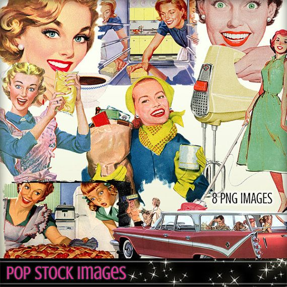 picture freeuse library Advertising clipart 50's. Mid century elements retro