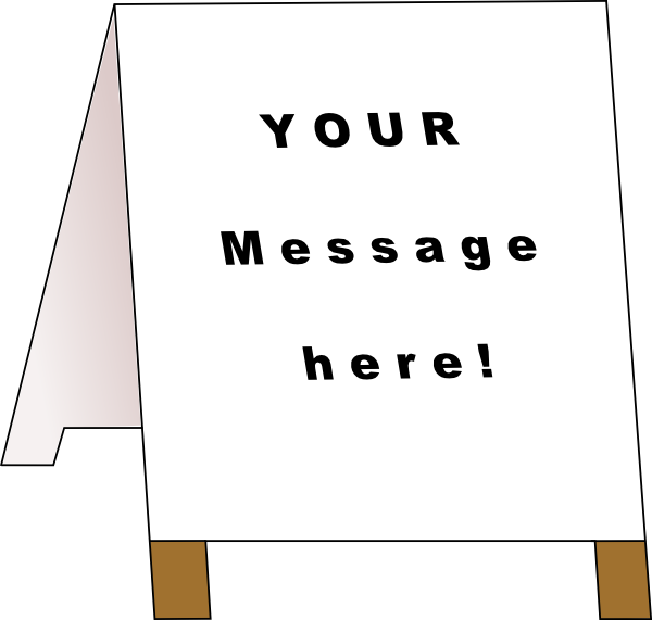 clip art free Advertising clipart advertisement board. Ad clip art at