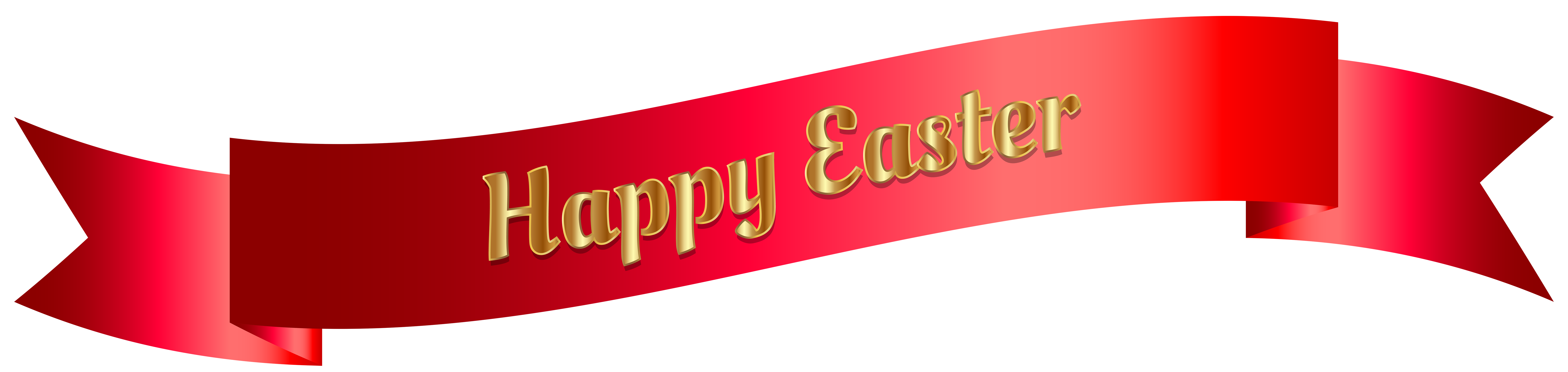 clip black and white stock Red happy easter png. Advertising clipart banner.