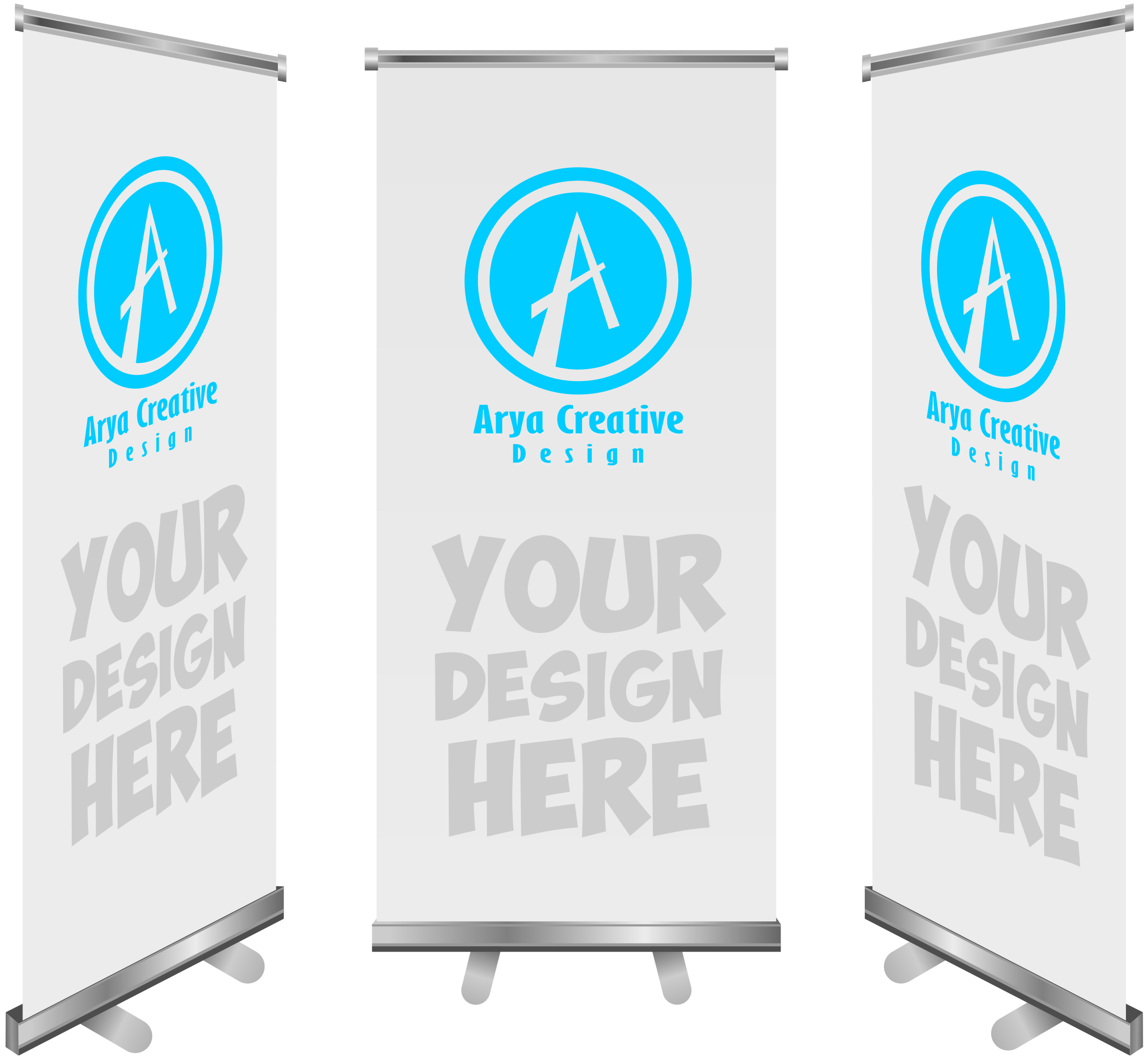 vector stock Advertising clipart banner. Template big image png.