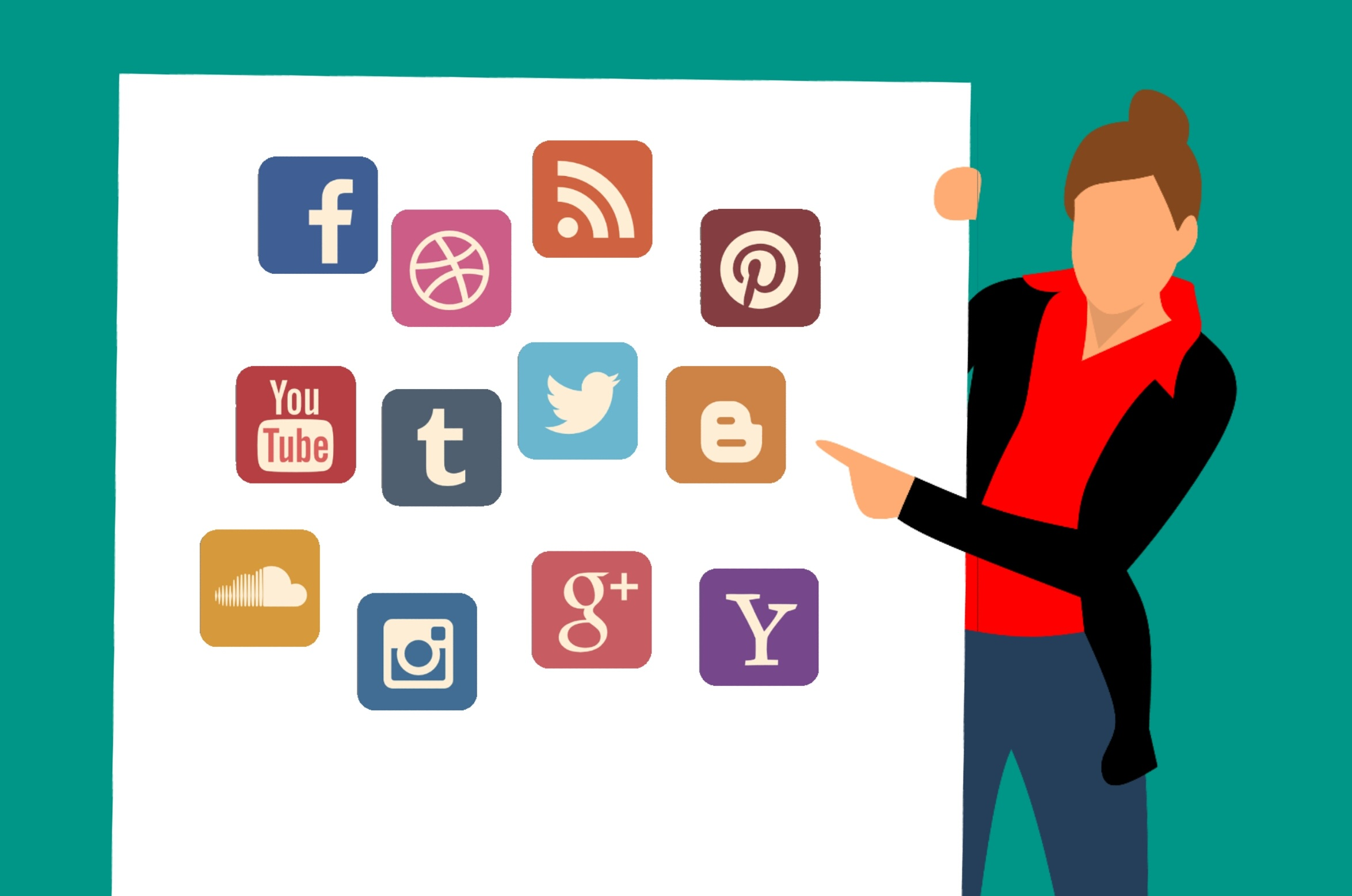royalty free Free images social twitter. Advertising clipart broadcast media