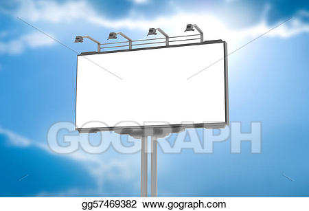 picture royalty free Advertising clipart hording. Stock illustration empty advertisement.