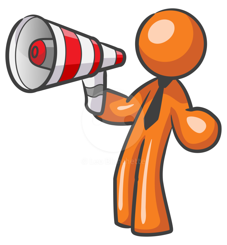 graphic free Advertising clipart megaphone. Image of free .