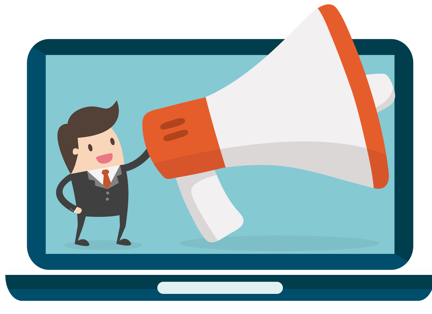 transparent stock Advertising clipart megaphone. Sr simple and cost.