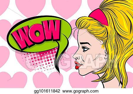 clip transparent stock Advertising clipart message box. Vector illustration pop art