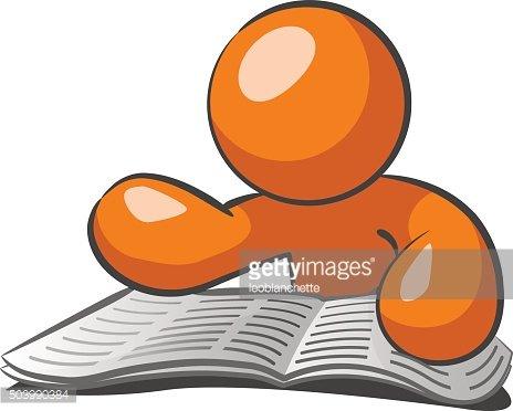 jpg free stock Browsing want ads premium. Advertising clipart orange man.