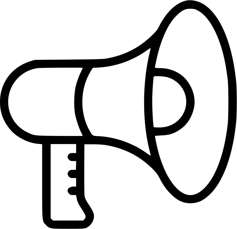graphic transparent stock Advertising clipart person megaphone. Speaker talk advertise loud.
