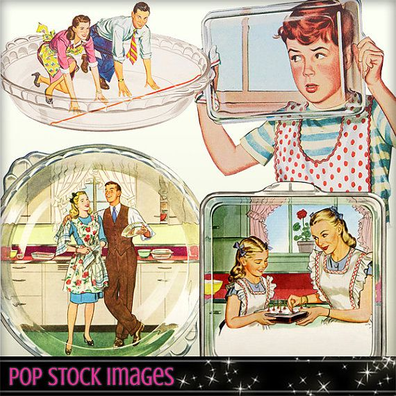 graphic transparent download Advertising clipart style. Mid century elements retro.