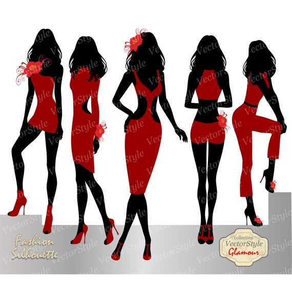 png transparent stock Glamour fashion clip woman. Advertising clipart style.