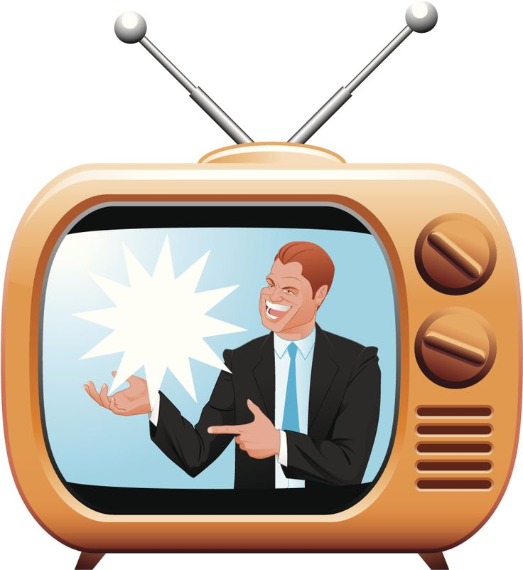 jpg black and white Tv advertisement . Advertising clipart television