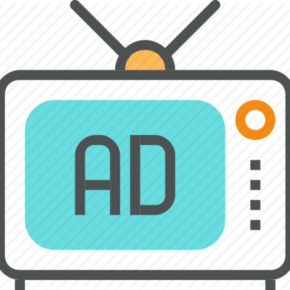 picture transparent stock Tv advertisement digital business. Advertising clipart television