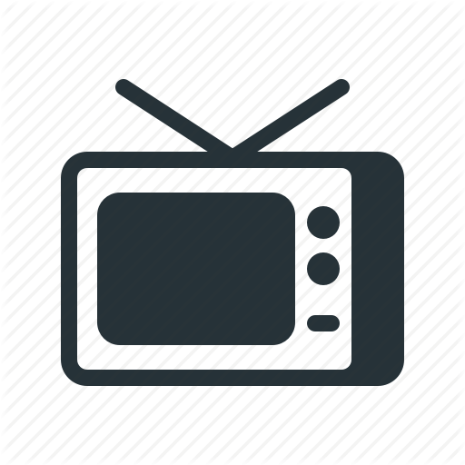 svg royalty free download Advertising clipart television commercial. Communication popglyph by it