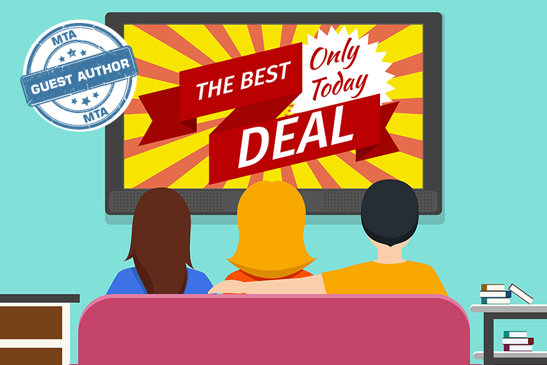 vector stock Tv advertisement . Advertising clipart television commercial