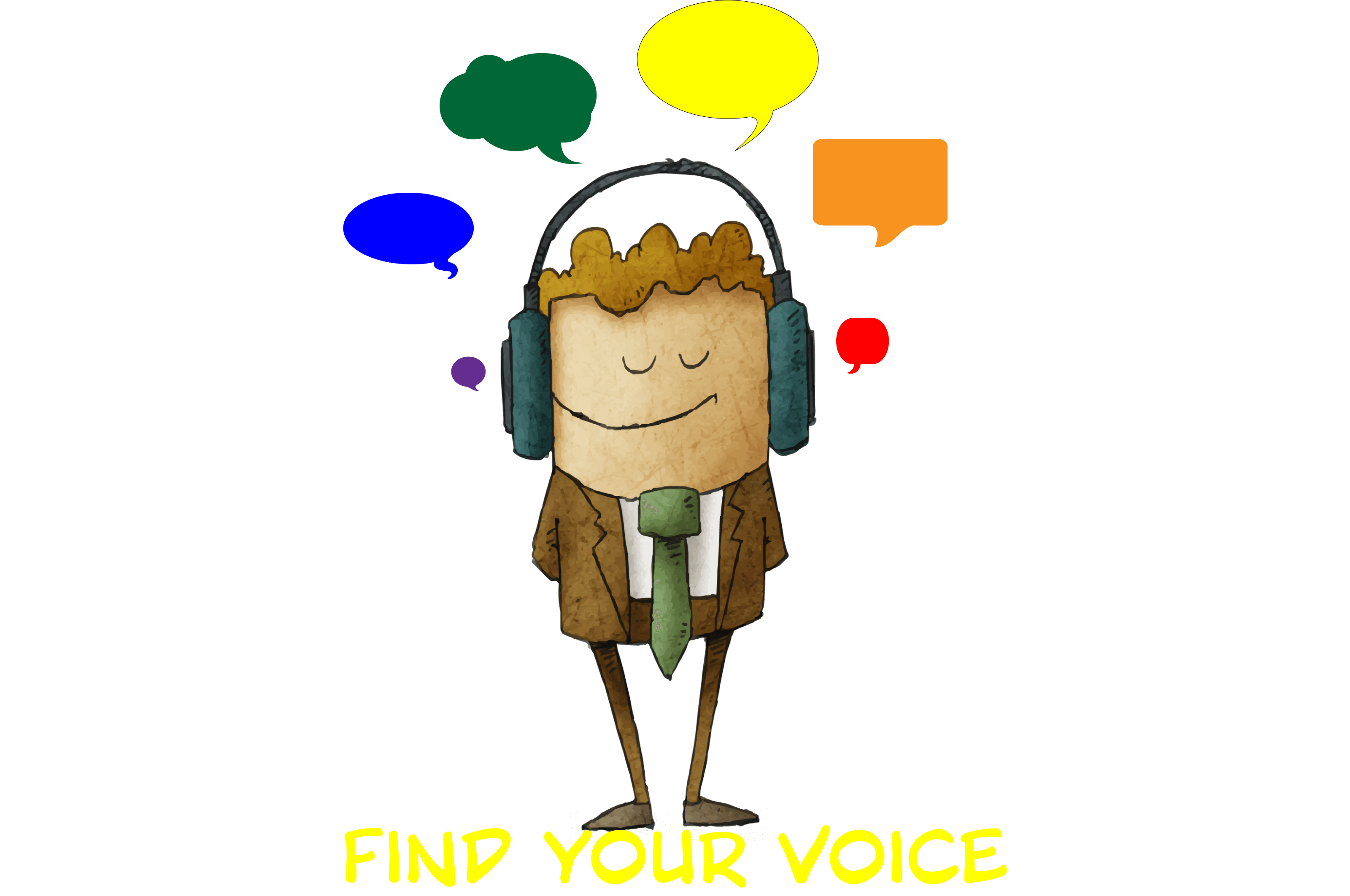 svg royalty free stock Creative overs audio production. Advertising clipart voice customer