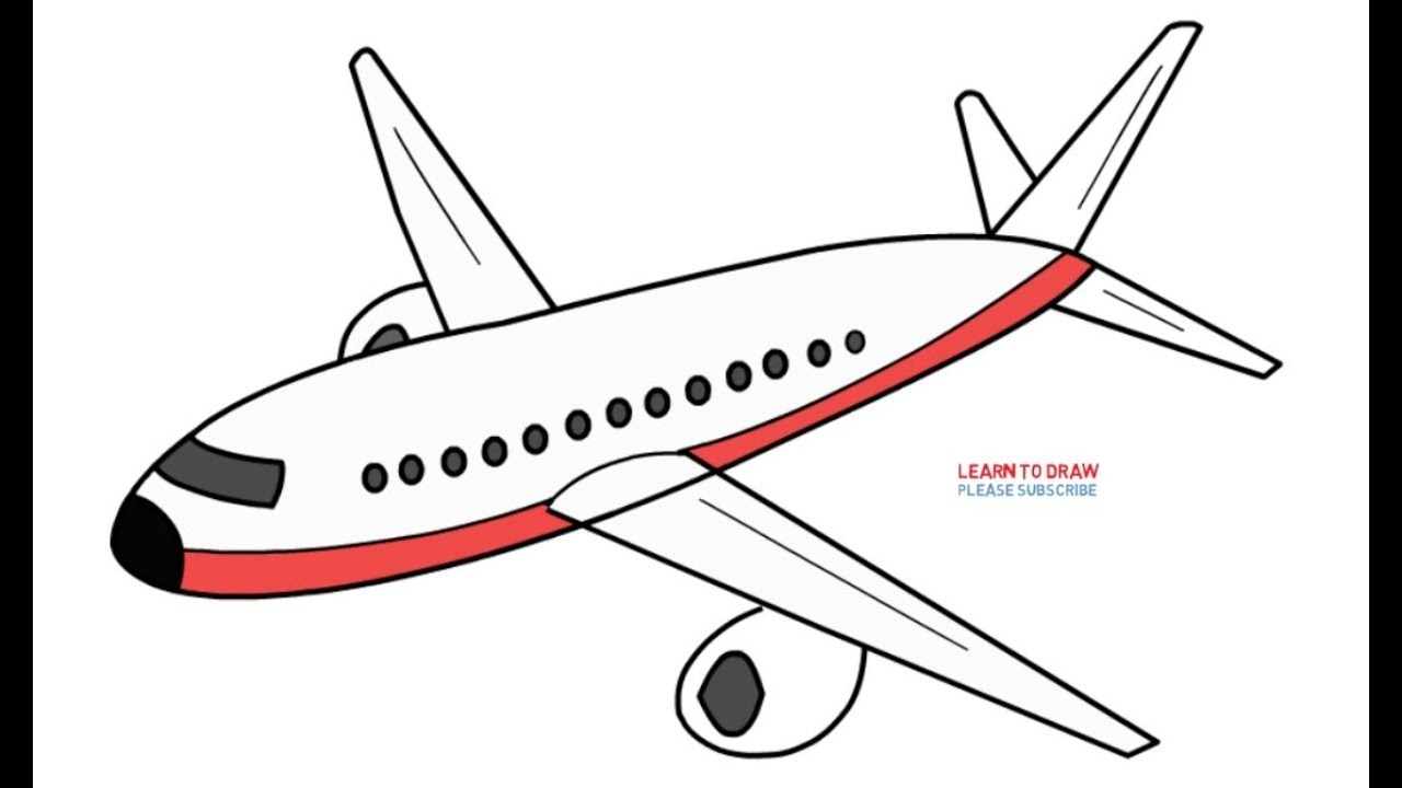 clipart free Aeroplane drawing. How to draw an
